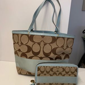 Coach Bag with Wallet
